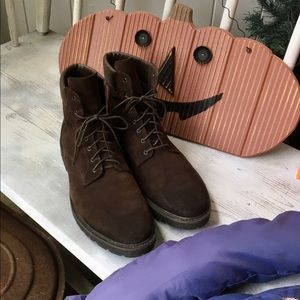 To Boot Mens Brown Suede Boots 10